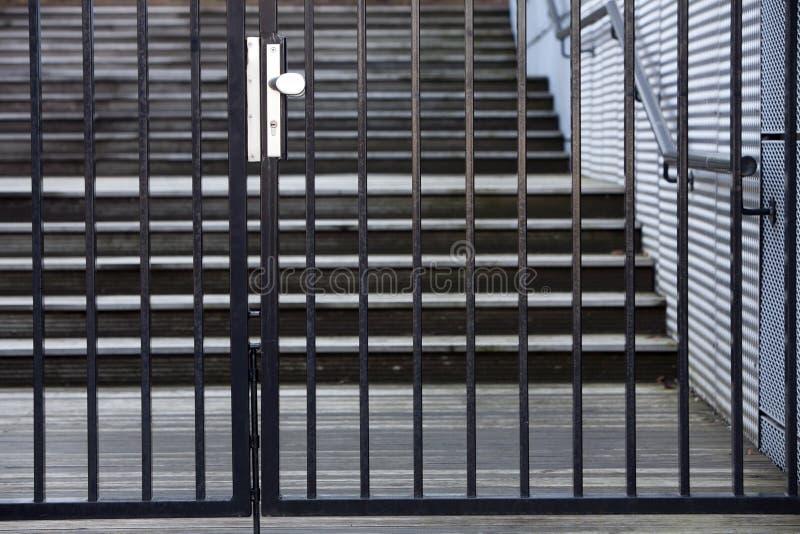 Porte de sécurité images libres de droits