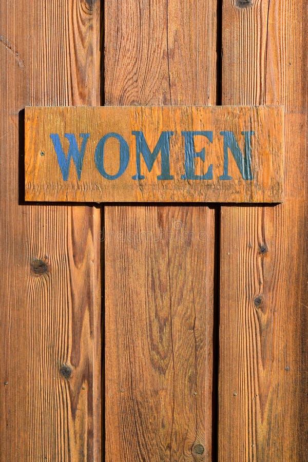 Download Porte De Salle De Bains De Signe De Femmes Photo stock - Image du femmes, symbole: 87708076