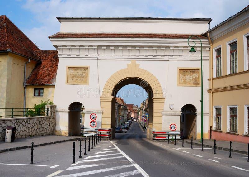 Porte de Schei dans Brasov photos stock