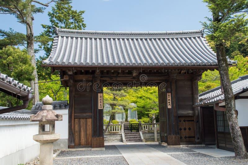 Porte de temple de Kiyomizudera photographie stock