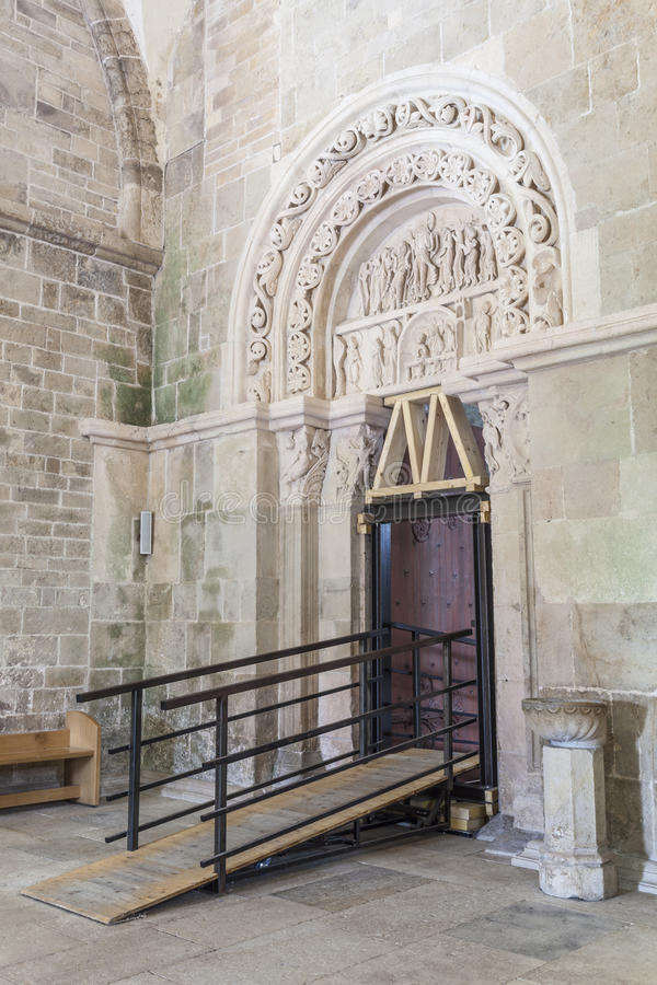 Porte DE Vezelay stock fotografie