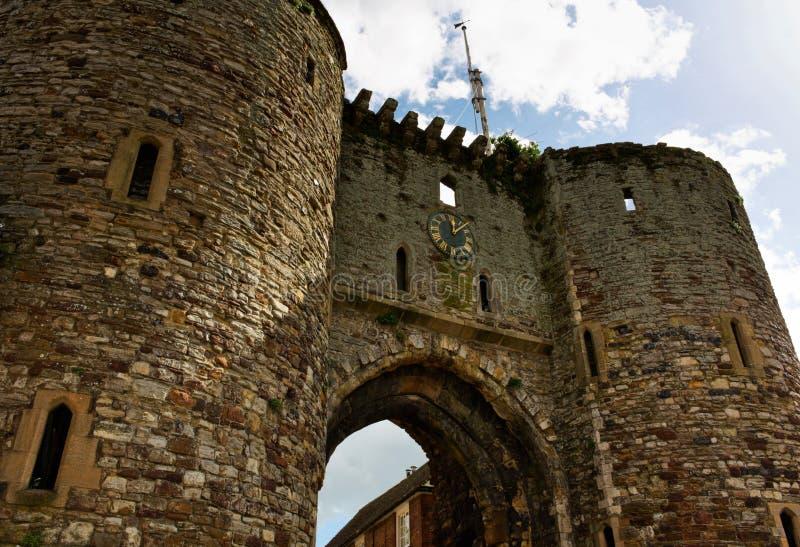 Porte de ville - je - Rye - R-U image libre de droits