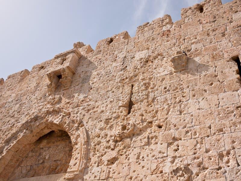 Porte de Zion à Jérusalem photos libres de droits