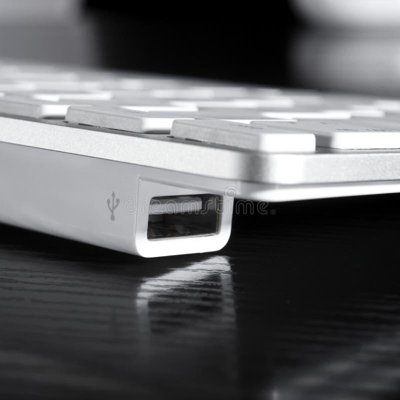 Download Porte del USB fotografia stock. Immagine di metallo, entri - 7321422