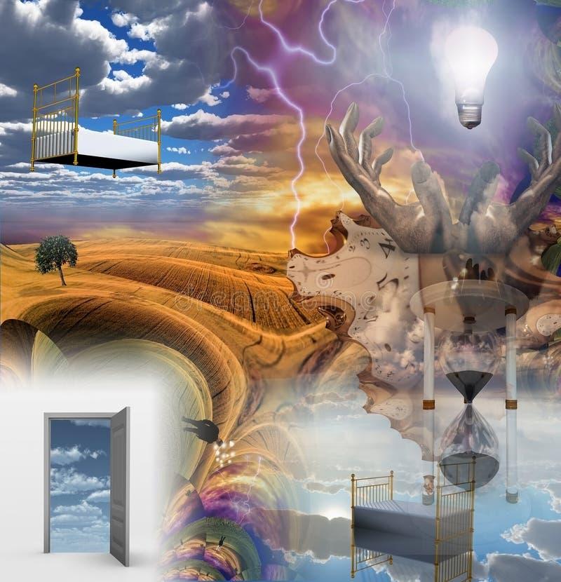 Porte della percezione illustrazione vettoriale
