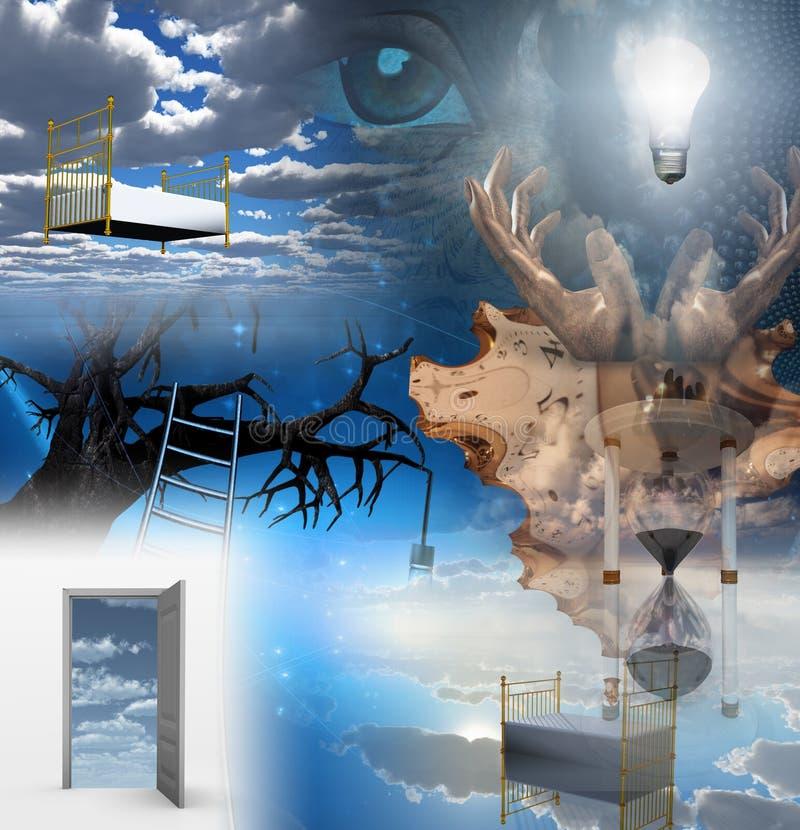 Porte della percezione illustrazione di stock