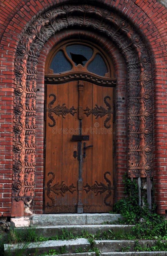 Porte della sinagoga di Subotica fotografie stock