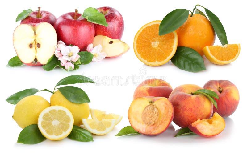 Download Porte Des Fruits La Collection Orange D'oranges De Pommes De Pêche De Pomme Photo stock - Image du manger, pêches: 76078410