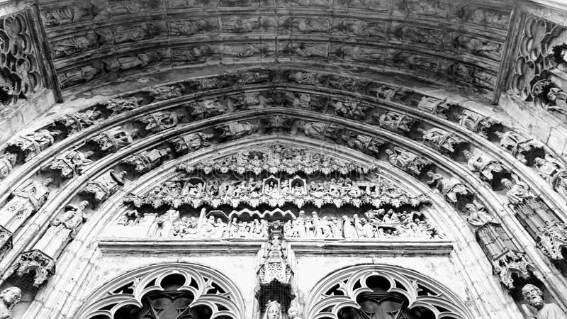 Porte des saints photo libre de droits