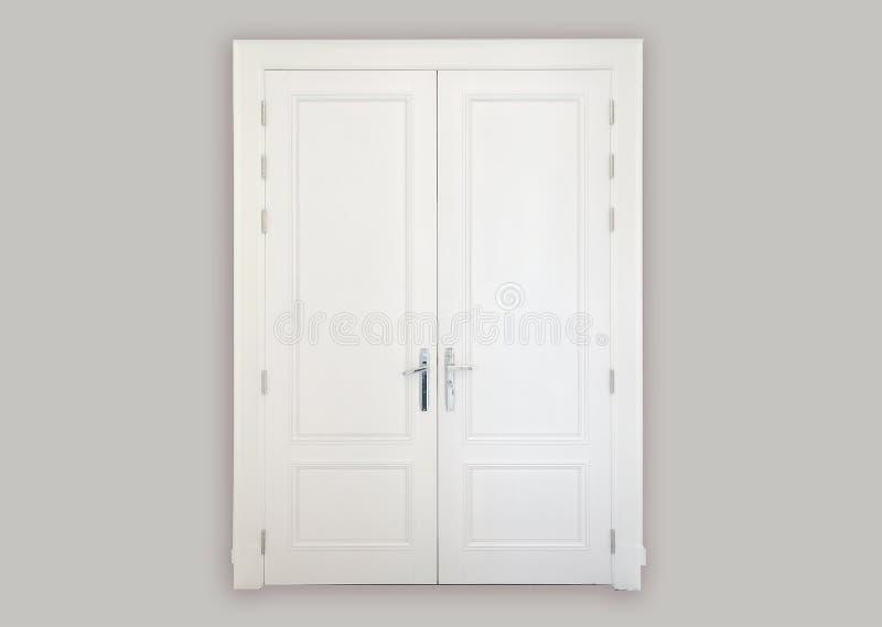 porte di legno bianche immagini stock libere da diritti