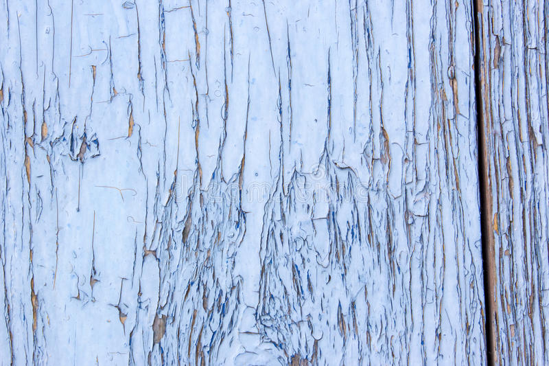 Porte di legno chiazzate pittura di gray blu fotografie stock libere da diritti