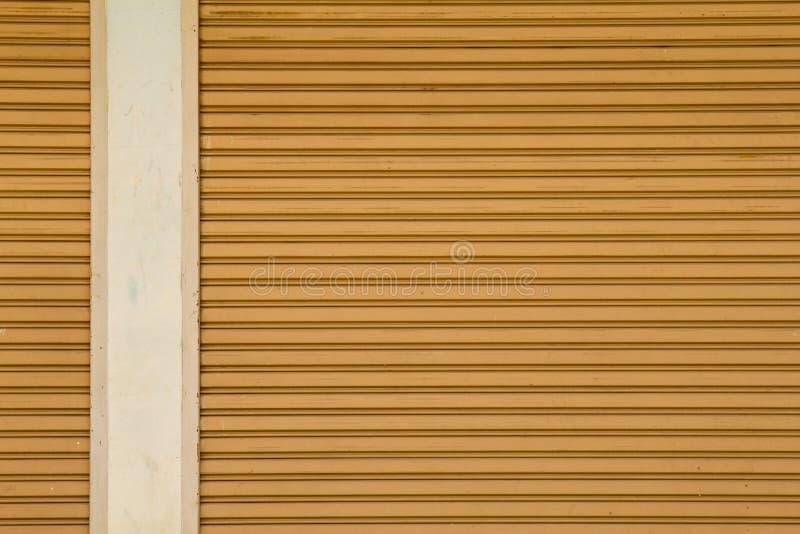 Porte en acier pour des textures de fond photos stock