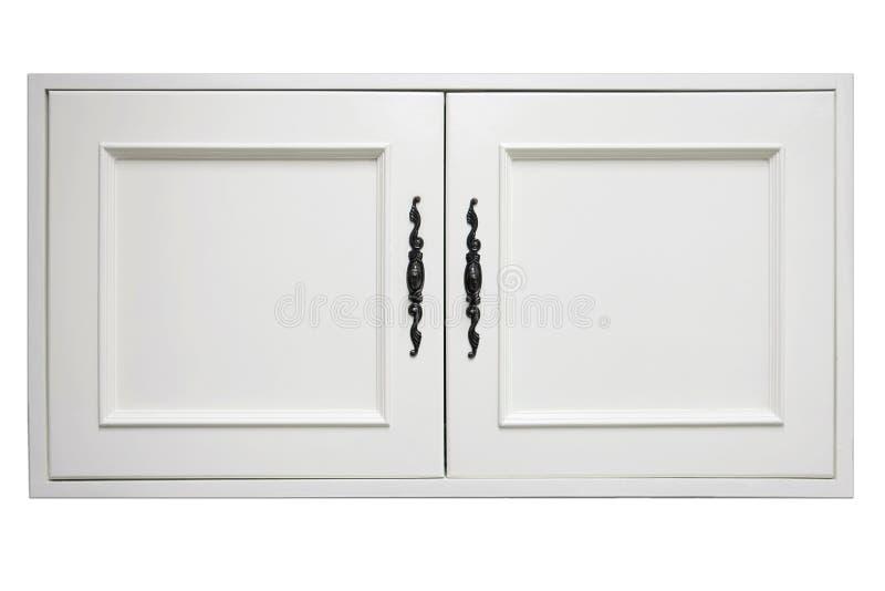 Porte en bois de placard photo stock