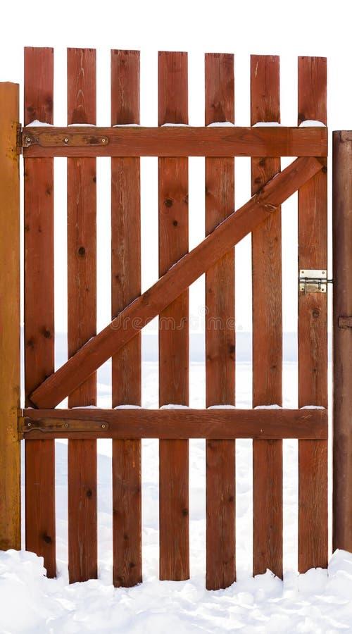 Porte en bois rustique photo stock