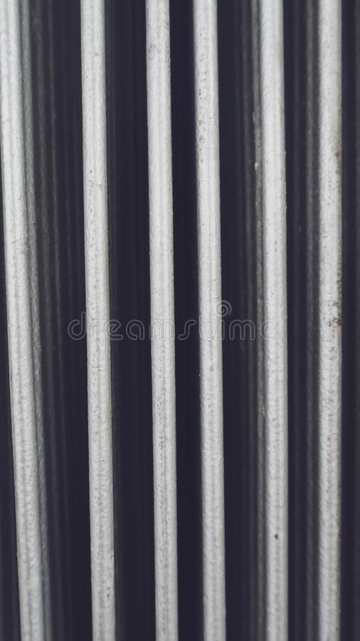 Porte en métal sur le pli Porte se pliante en métal photos stock