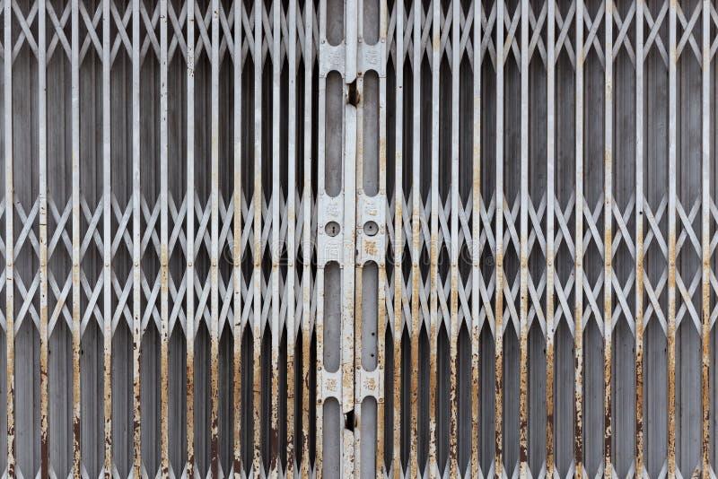 Porte en salle fermée photo stock