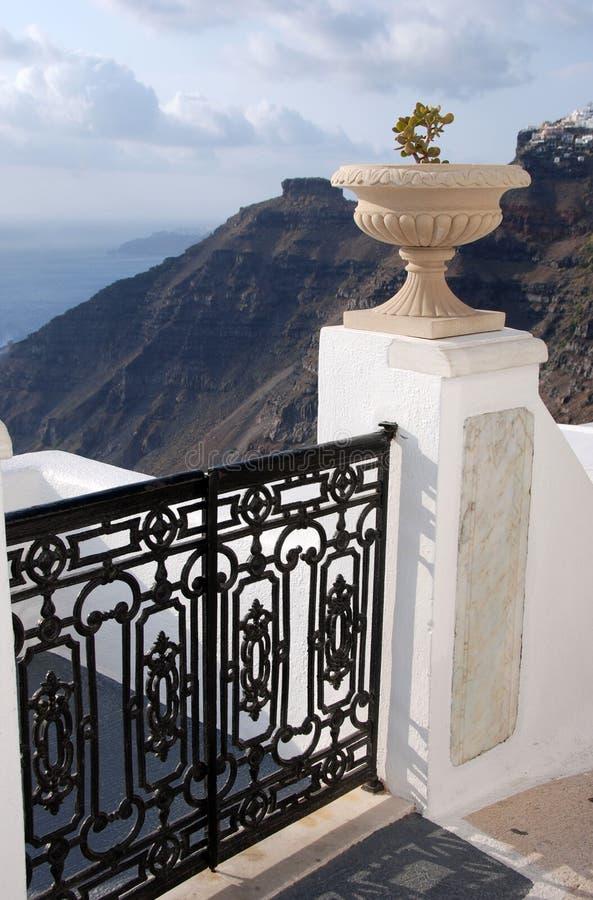 Porte et urne photo libre de droits