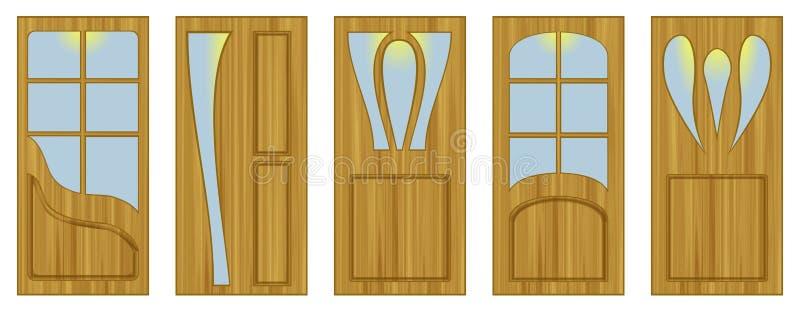 Porte interne illustrazione di stock. Illustrazione di disegno ...
