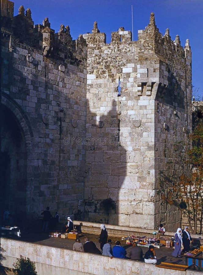 porte Jérusalem de Damas photos libres de droits