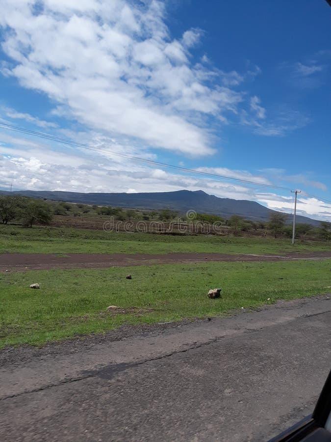 Porte Kenya d'enfers photographie stock