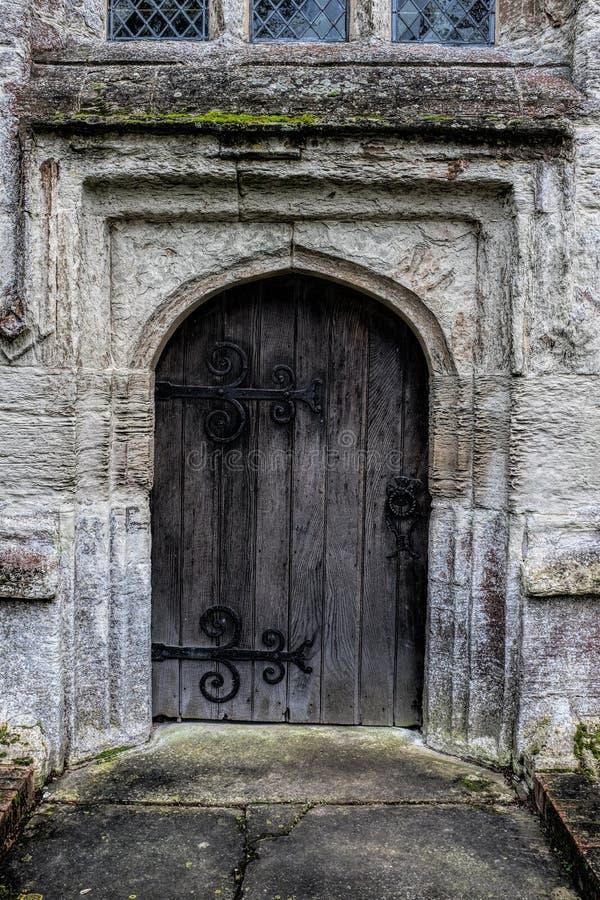 Porte médiévale photographie stock libre de droits