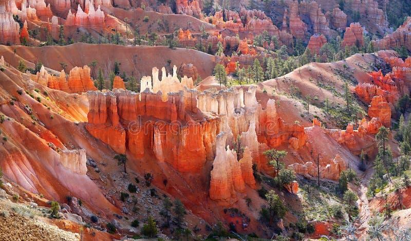 Porte-malheur Bryce Canyon, paysage de panorama photos libres de droits