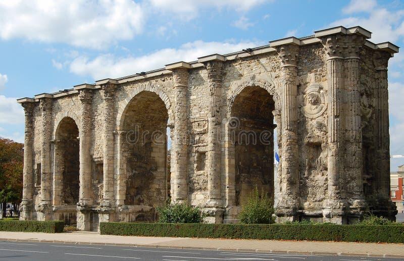 Porte Mars - Reims lizenzfreie stockfotos