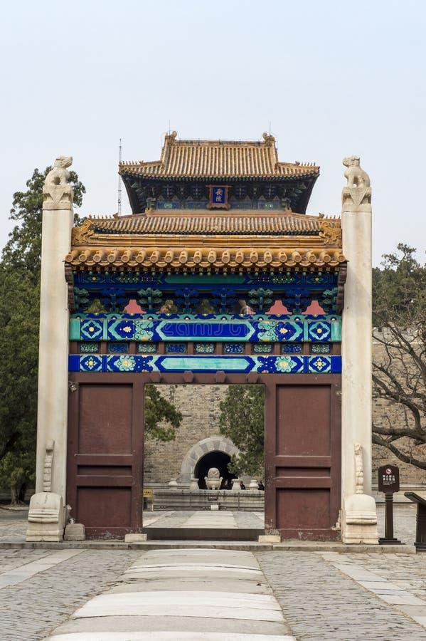 Porte Pékin image libre de droits