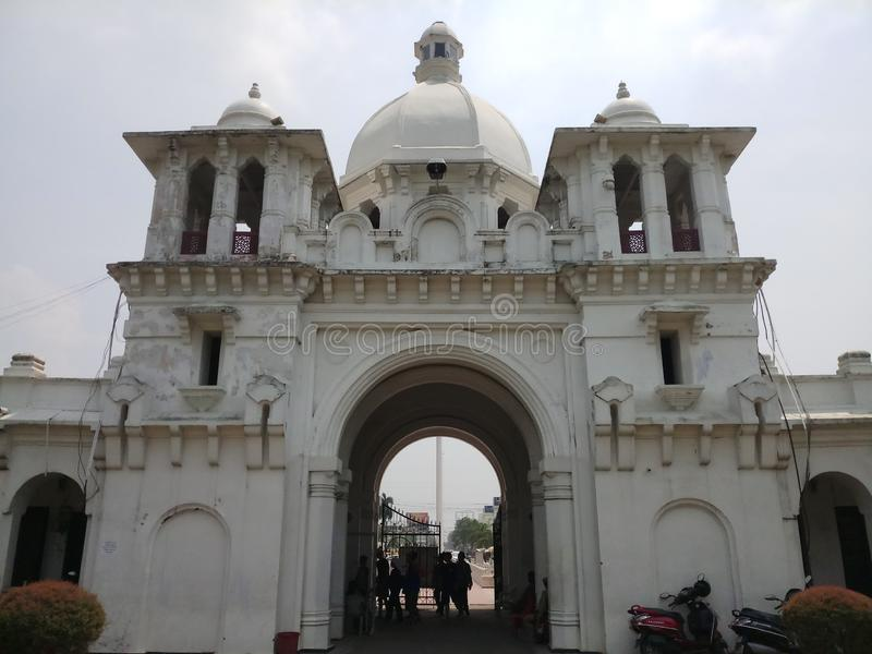 Porte royale d'Agartala photo stock