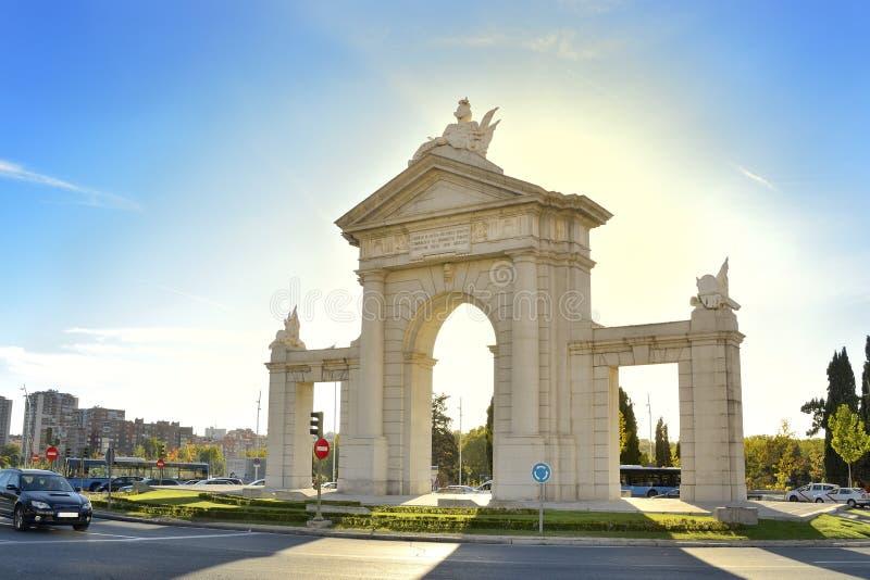 Porte Saint Vincent Stock Photography