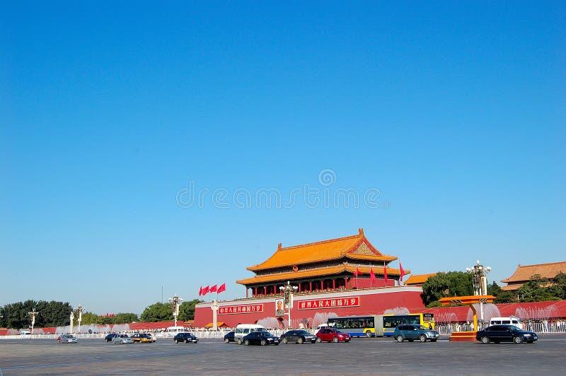 Porte Tienanmen photographie stock