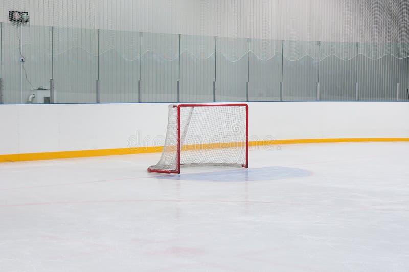 Porte vide d'hockey photos libres de droits