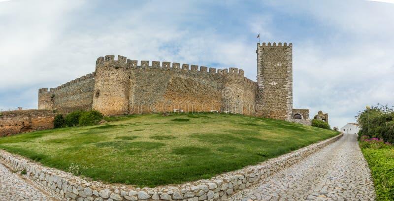 Portel the castle stock photography
