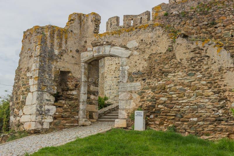 Portel the castle royalty free stock photos