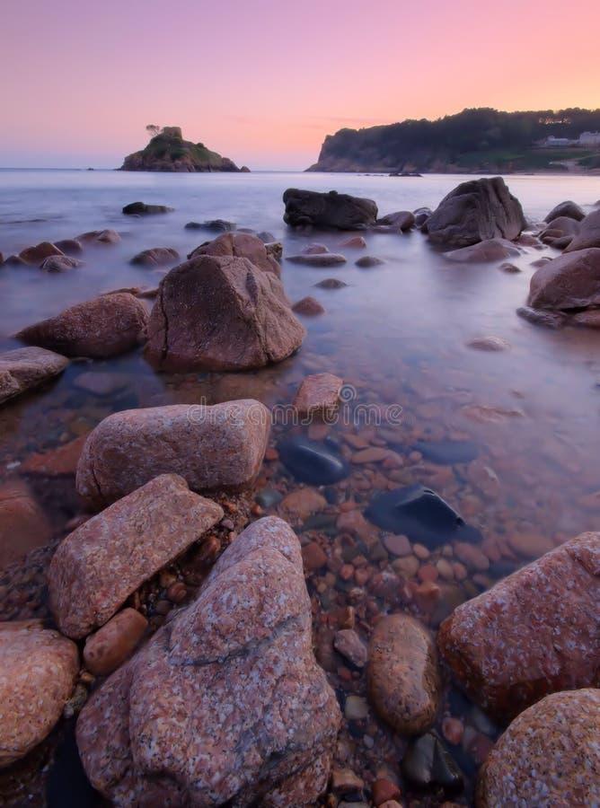 Download Portelet Bay - Jersey C.I stock image. Image of sunset - 25037765
