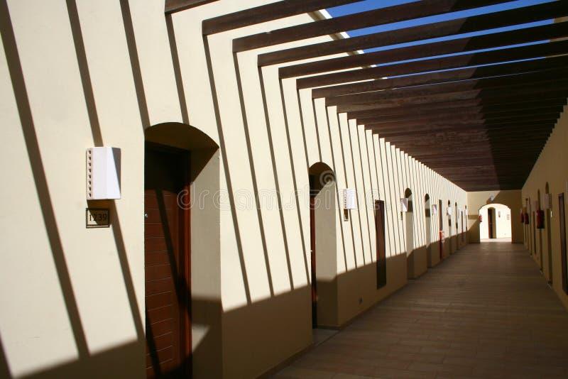 portelli del corridoio molti immagini stock libere da diritti