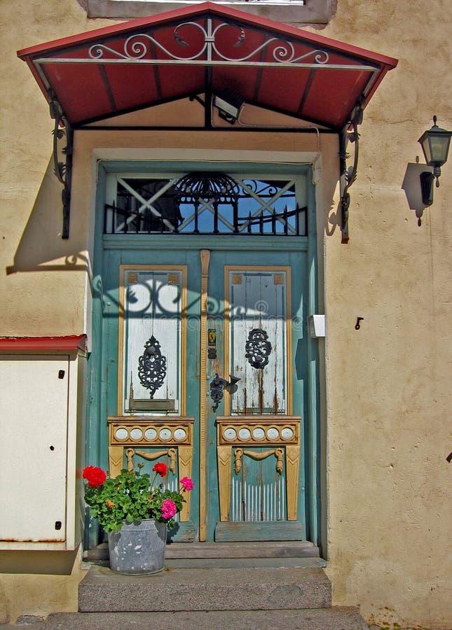 Download Portello immagine stock. Immagine di porta, wooden, colorful - 201771