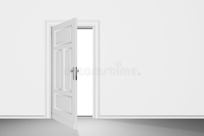 Portello aperto immagine stock
