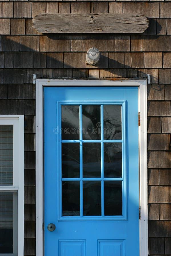 Download Portello blu luminoso immagine stock. Immagine di atlantico - 205013