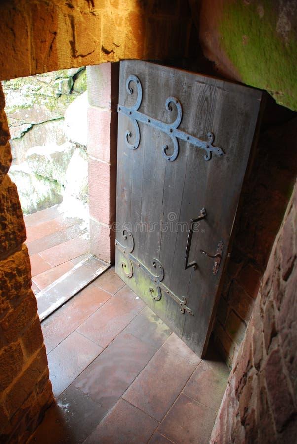 Portello del castello immagini stock libere da diritti