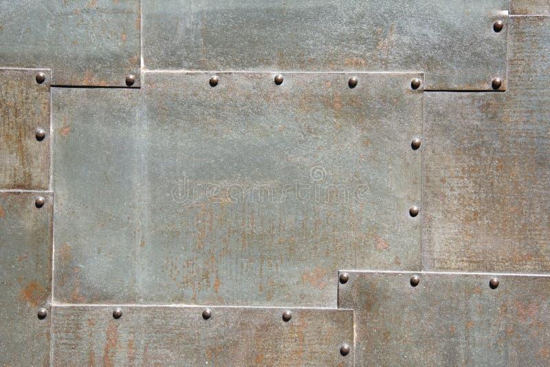 Portello del metallo fotografia stock