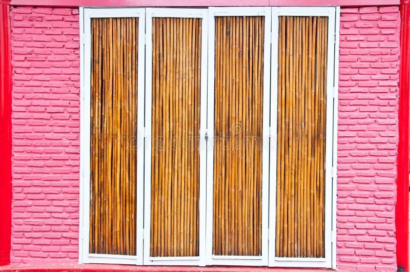 Portello di bambù immagini stock