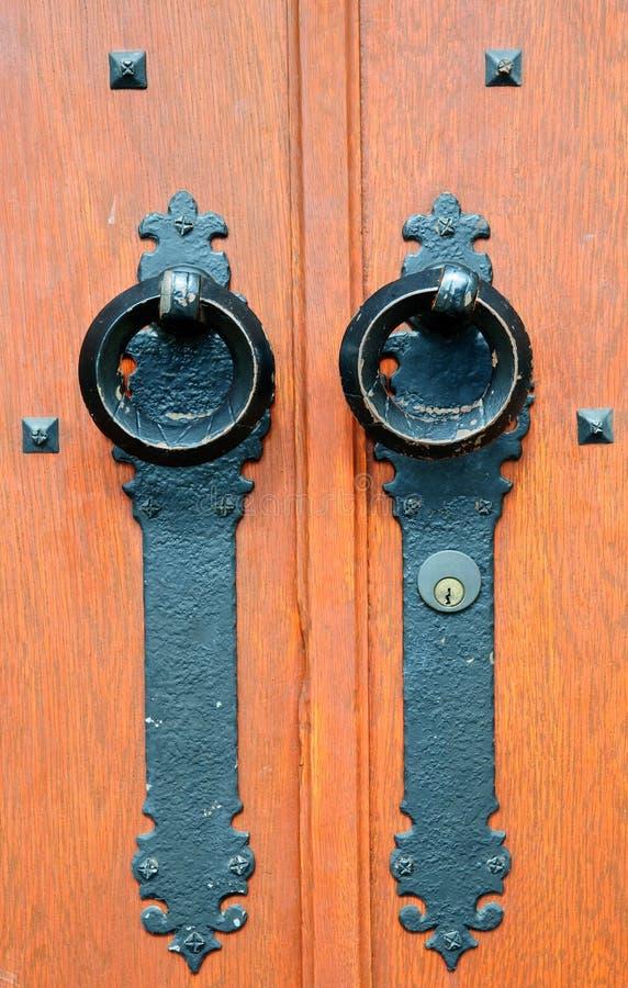Portello di legno rustico immagine stock libera da diritti