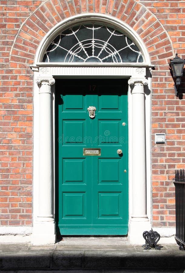 Portello georgiano a Dublino fotografia stock libera da diritti
