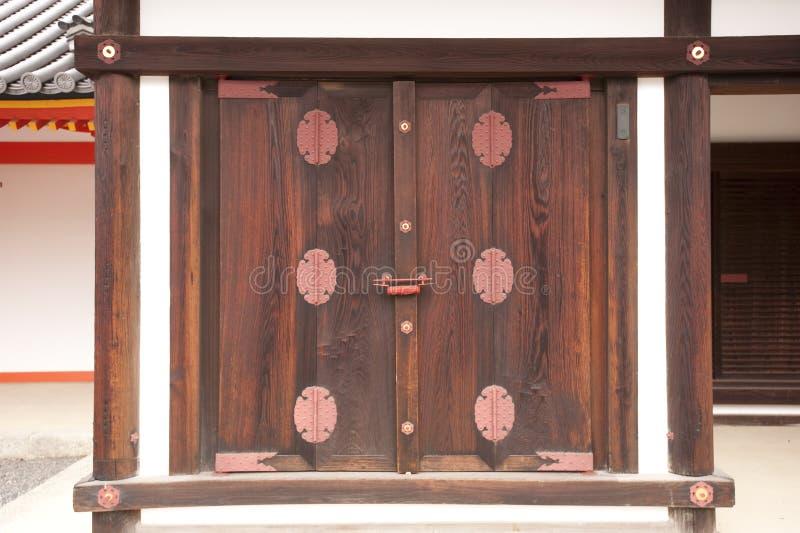 Portello giapponese antiquato del palazzo fotografia stock