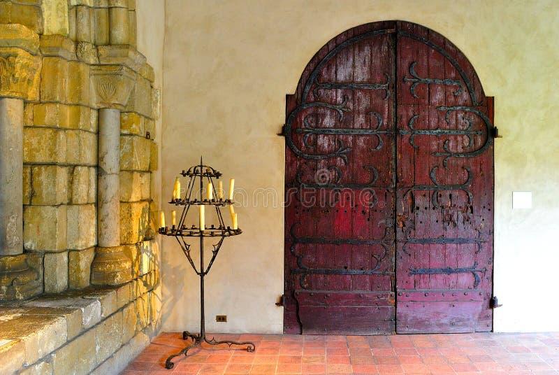 Portello gotico fotografia stock