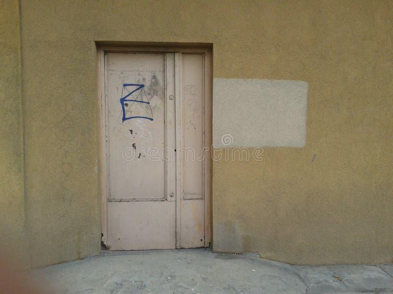 Portello Locked fotografie stock libere da diritti
