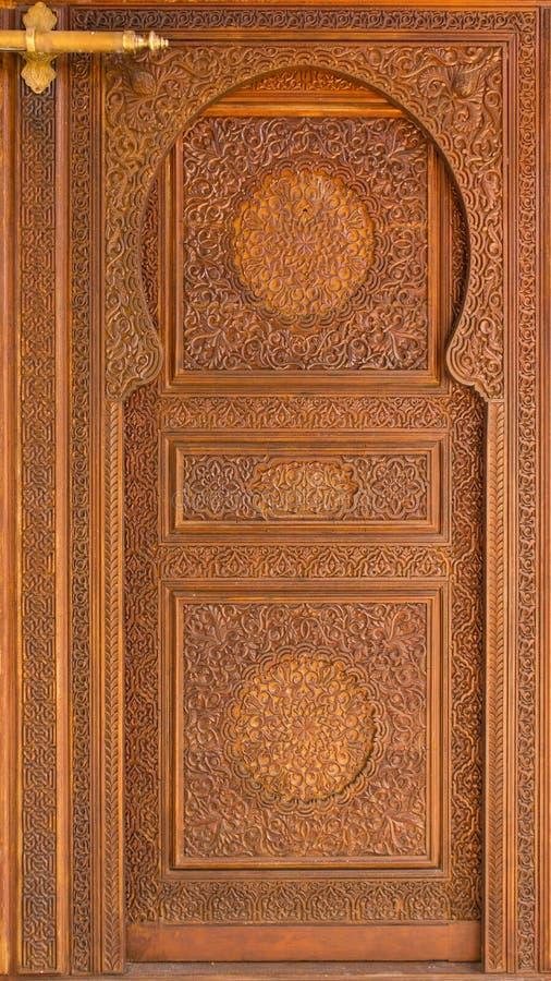 Portello marocchino di stile. immagine stock libera da diritti