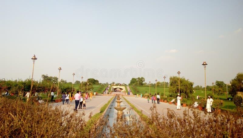 Porten av Rajghat parkerar arkivfoto