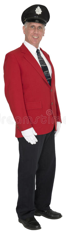 Free Porter, Baggage Handler, Doorman, Hotel Employee, Isolated Royalty Free Stock Photo - 41596395